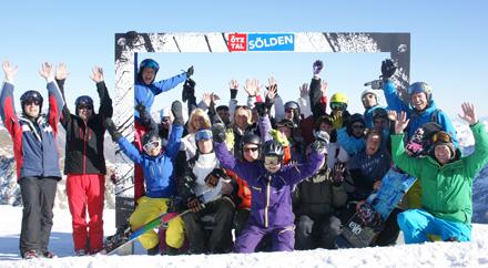 Ski- und Snowboardtest in Sölden