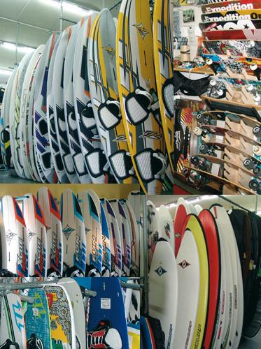 Windsurf Boards der Top Cracks bei Spinout ab Lager verfügbar