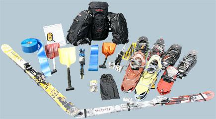 Alles für Schneetouren by Spinout Sport Shop