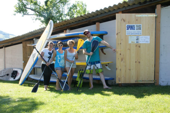 SPINOUT-SUP-Station-Hallwilersee-Team
